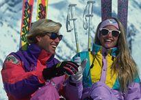 ski retro