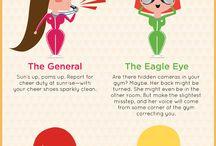 Cheerleader Infographics