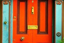 Amazing doors and colors