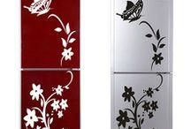Hűtőszekrény dekoráció