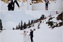 Winter Weddings / Winter wedding inspiration from across Europe.