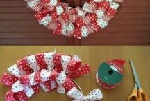 Christmas DIY decorations / by Hope Rencher