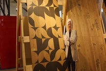 7 Madman +1 / Milano, April 2012. Wild presentation of industrial prototypes of decorated wood floors
