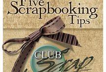 Scrap booking tips