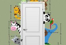 Nursery doors
