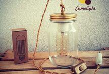 Lampade Barattolo Stile Vintage Camelight