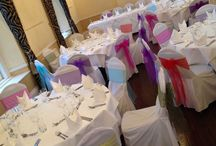 White Hart Royal, Moreton in Marsh / Wedding and event chair covers