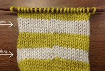 Knitting and crochet tips and stitches
