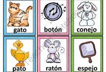 Spanish Rhyming Words