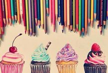 Cupcakes / Cute and adorable cupcake art