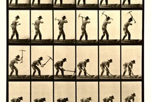 Движения человека. Movements of the person. / Рисунок. Фотографии человека в движении. Picture and photos of the person in movement.