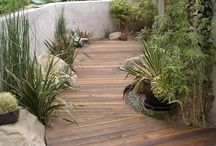 Hard scape  / Built ins of landscaping
