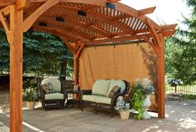 Pergolas & Outdoor Covers / Outdoor living can be a refreshing swim in your new pool on a hot summer day, or it might be a fun night with s'mores around the fire pit on a crisp fall night. Entertaining all year long could include an outdoor living area complete with kitchen, fire place, TV, sound, bar, an overhead structure, for our welcomed winter visitors, a warm and therapeutic spa can be just the thing on a crisp Arizonan night.