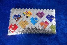 Flettede tasker + inspiration / Denne opslagstavle vil jeg bruge til at vise jer de flettede tasker jeg laver privat + inspiration jeg får fra andre der fletter tasker