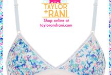 Taylor + Rani Underwear / Our beautiful bras that spread support around the world #socialenterprise