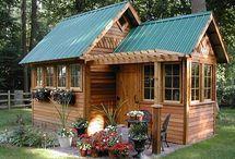 produse lemn / Case, amenajări curți, terase