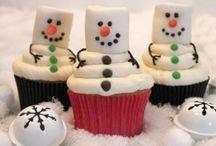 Winter / Bak je door de donkere dagen heen! Doe hier ideeën op voor winterse baksels.