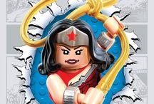 lego comic posters