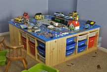 Lego Storage Ideas / by Lisa Erickson