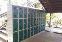 Keys Family Day School / #storage #storageExpert #locker #lockers #storagesolutions