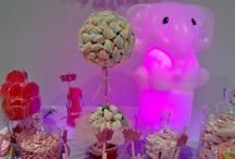 Candy Bar Deco Led Ambar