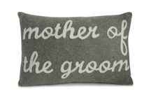 throw monogram pillow