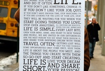 posters/sayings / by Lynn Maywalt Eckert