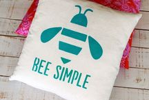 Bee items for the Home