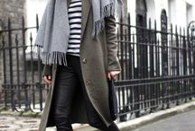 Winter Wardrobe / Think warm and thick coats, boots and scarfs