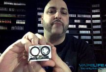 Reviews / Break down reviews and run downs of box mods, liquids, drippers and tanks all related to vaping.