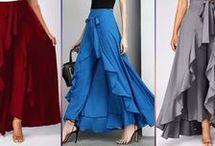 юбка палаццо