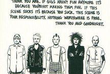 punk rock art