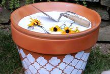 Terra-cotta pot crafts