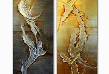 Sculpture paintings