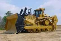WORLD HEAVY SPECIAL EQUIPMENT/MACHINERY (3) / When its need to move tons of Earth,nothing better than a Powerful BULLDOZER.