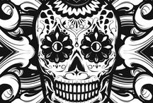 Skulls..Skulls, and Skulls / by Marika L