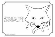 printable stories colouring pages