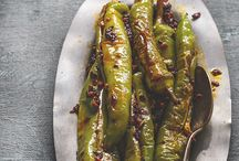 Spicy food / Green chillies