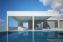 Jardines y terrazas / Ideas de decoración para jardines y terrazas: Pérgolas, piscinas, mobiliario...