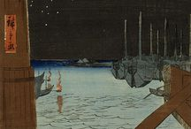 Water Images (GCSE FINE ART EXAM PREP) / Various artists  Hiroshige  Turner  Maggi Hambling Susan Derges  David Hockney  Kurt Jackson