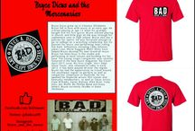 Band of the Month T-shirt Club, featured artists