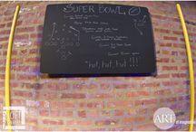 #ArtOfSuperBowl / Superbowl party tips and decor ideas.