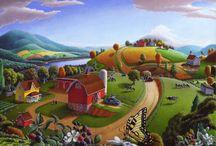 ART |  Folk Art & Whimsical