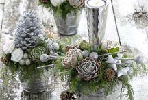 Vánoce - vazby, bytové dekorace / Inspirace pro výzdobu