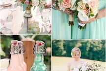 Mint and blush wedding ideas