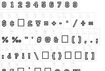 typographie & +