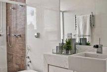 Banheiros Manu e casal / Decor