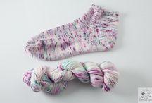 Yarn, wool, fiber, spinning etc / laine, fil, fibre Wool, yarn, handdyed, spinning fiber