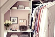 Organization, storage and closets / Organization storage and closet spaces  / by Sharalee M