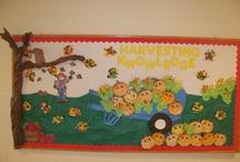 Kindergarten Bulletin Boards & Doors / by Jennifer Mattingly